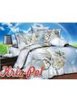 KRISPOL Полуторный комплект постельного белья 3D 49851659 (UAMAG-35412)