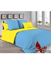 TAG tekstil Полуторный комплект постельного белья P-4225(0643) однотонное 0х0 поплин (100% хлопок)