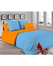 TAG tekstil Полуторный комплект постельного белья P-4225(1263) однотонное 0х0 поплин (100% хлопок)