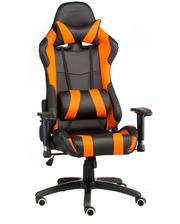 """Техностиль-ПРО Геймерское кресло """"ExtremeRace black/orange"""" 51х0х133 усиленный пластик"""