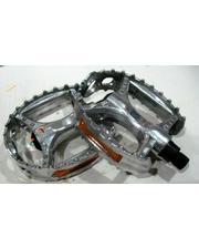 Педаль алюминиевая, модель 895 FPД 9/16 серебро