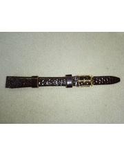 P80219-160659 Ремешок Шарм натуральная кожа, коричнеый 10 мм