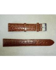 P80219-160128 Ремешок натуральная кожа, коричневый 20 мм