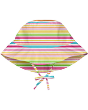 747161-2303-51 Солнцезащитная панамка I Play -Light Pink Multistripe-0/6мес