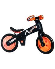 SKD-69-84 Велосипед (беговел) Bellelli B-Bip обучающий 2-5лет, пластмассовый, чёрный с оранжевыми колёсами