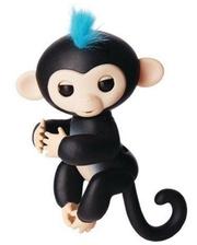 SSE-HM-Black Ручная обезьянка на бат. Happy Monkey интерактивная (чёрный)