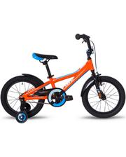 "SKD-80-94 Велосипед 16"" Pride Tiger оранжевый/голубой/белый 2018"
