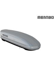 000036200000 Багажный бокс MENABO MANIA 320 ABS SILVER / Серебристый глянец/