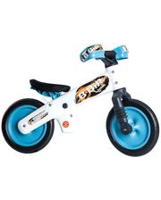 SKD-41-35 Велосипед (беговел) Bellelli B-Bip обучающий 2-5лет, пластмассовый, белый с голубыми колёсами