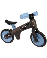 BIC-56 Велосипед (беговел) Bellelli B-Bip обучающий 2-5лет, пластмассовый, чёрный с синими колёсами