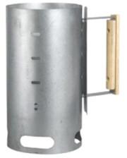 Контакт Кружка для розжига костра из коррозиестойкой оцинковоной стали. С деревянной ручкой. d=16, 5мм А5-1 Lodge Cost Iron 1800091