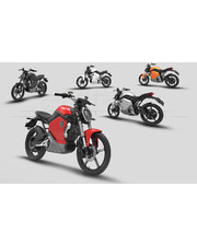 Электрический мотоцикл Super Soco TS1200R 1200W черный / красный
