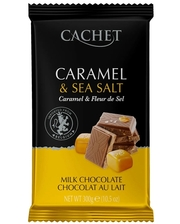 Cachet карамель и морская соль 32% 300 г