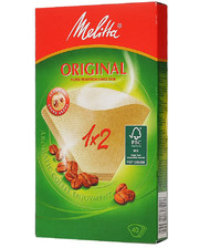Melitta Original 1*2 бумажный бежевый 40 шт