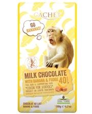 Cachet Tanzania Milk 40% Banana-Fudge 180 г
