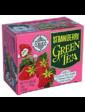 Mlesna Зеленый чай Клубника в пакетиках Млесна картон 200 г