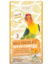 Cachet Tanzania Milk 40% Kiwi-Mango 180 г