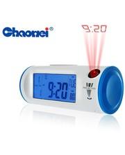 Цифровые часы-проектор с подсветкой и ЖК-дисплеем - CHAOWEI®