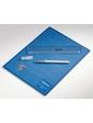 Dahle Набор для резки бумаги, Dahle: резиновый коврик А4, нож, лезвия, линейка (21см)