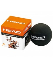 Head Tournament Squash Ball Black 1 желтая
