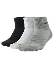 Nike Dri-fit half cushion 3pairs black/grey/white