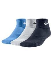 Nike 3pairs young CTN cush white/blue/navy