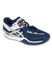 Asics Gel-blast 6 navy/lightning/white