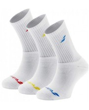 Babolat 3 pairs pack junior white