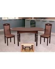 Модуль Люкс Комплект стол Каир и стулья Турин