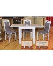 Модуль Люкс Комплект стол Милан с камнем и стулья Турин