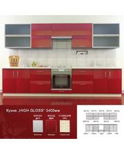 Mebel-STAR Кухня HIGH GLOSS 3,4 м Феррари
