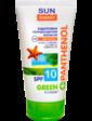 Sun Energy Green Panthenol Эмульсия SPF 10 водостойкая для интенсивного загара 150 мл