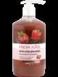 Fresh Juice Крем-гель для душа. Шоколад и клубника 750 мл