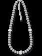 Lambre Ожерелье из серого жемчуга