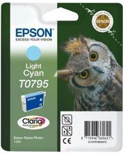 Epson T0795 светло-голубой | Стилус Фото 1400 (C13T07954010)