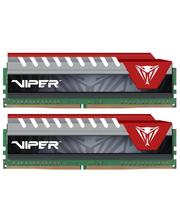 Patriot 16 Gb (2x8GB) DDR4 2400 MHz Viper Elite Red (PVE416G240C5KRD)