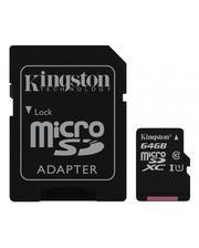 Kingston 64GB microSDXC class 10 UHS-I Canvas Select (SDCS/64GB)