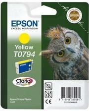 Epson T0794 желтые | Стилус 1400 (C13T07944010)
