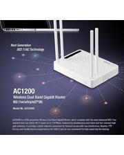 TOTOLINK 1200 Мбит / с 2,4 / 5 ГГц 802.11ac (A2004NS)