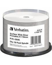 Verbatim [шпиндель 50 | 4,7 ГБ | 16x | (43645)