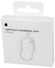 Apple Lightning to 3.5mm Headphones for iPhone 7 (MMX62ZM/A)