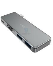 VAVA USB C Hub Adapter with 3.1 Power Delivery, HDMI Port, 2 USB 3.0 Ports (VA-UC003)