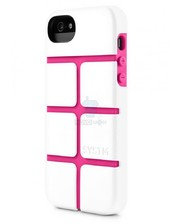 Incase SYSTM Chisel Case White/Pink for iPhone 5/5S (SY10036)