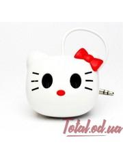 Без ТМ Колонка для телефонов, планшетов, ноутбуков с аккумулятором на присосках Hello Kitty