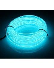 Lightning Гибкий светодиодный неон LTL Прозрачный синий Neon Glow Light Transparent 3 метра