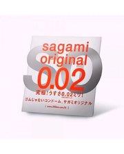 Полиуретановые презервативы Sagami Original 0.02мм, 1 шт