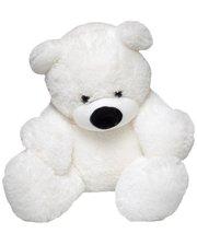 Мягкая игрушка Фабрика мишка Бублик 45 см Белый