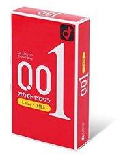 Презервативы ультратонкие Okamoto Zero One L 0.01