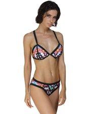 Пляжный купальник бикини с циганским принтом