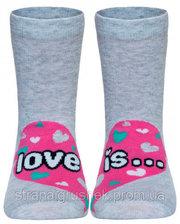 Носки детские TIP-TOP (веселые ножки), Conte, светло-серый (14 р.) (CON31173)